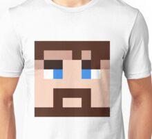 BlueXephos Minecraft skin - Yogscast Lewis face Unisex T-Shirt
