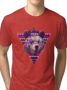 Bear Triangle Tri-blend T-Shirt
