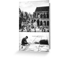 Parisian Streets - Artist Greeting Card