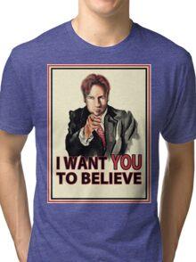 Uncle Mulder Tri-blend T-Shirt