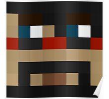 CaptainSparklez Minecraft skin Poster