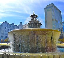 Nashville Fountain by Mistral Hill  Photography