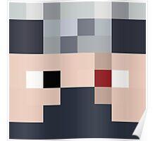 Ethoslab Minecraft skin - Etho face Poster