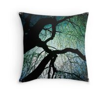 Weeping Branches Throw Pillow
