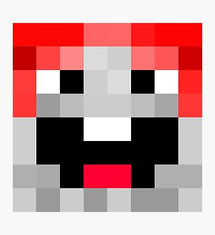 ExplodingTNT Minecraft skin Photographic Print