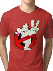 Twice The Know - Twice the Power! (logo)  Tri-blend T-Shirt