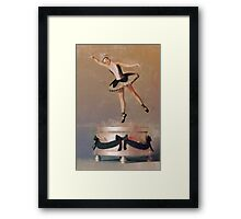Music Box Ballet Dancer Framed Print