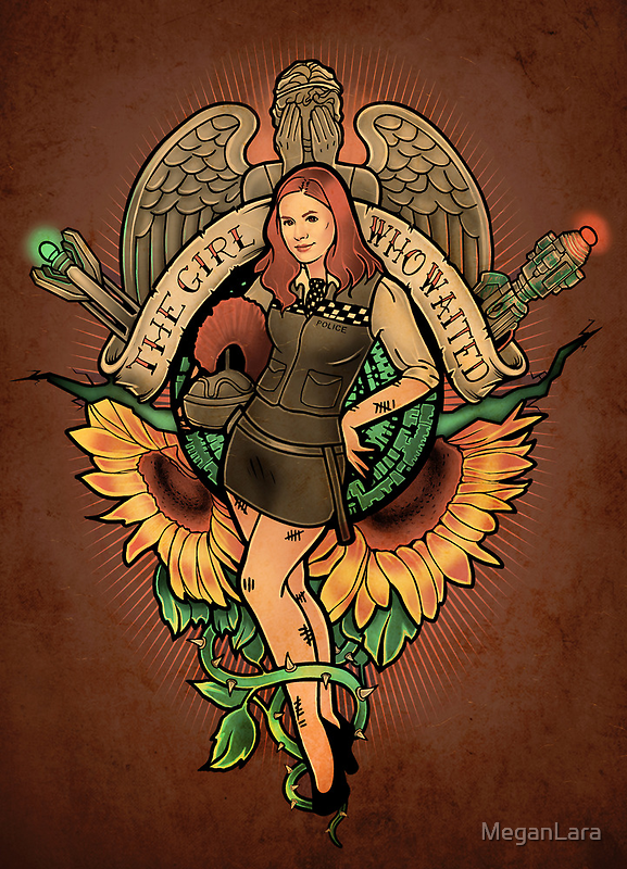 The Girl Who Waited - Print by MeganLara