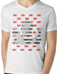 Don't Blink Mens V-Neck T-Shirt
