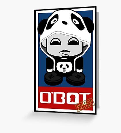 Gadget Dragon House O'bot 1.0 Greeting Card