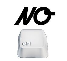 NO Ctrl Photographic Print