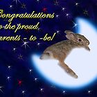 Congratulations To The Proud Parents To Be Bunny Rabbit by jkartlife