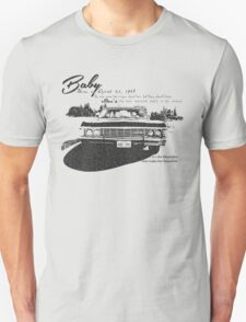 Baby Supernatural 67 Impala T-Shirt