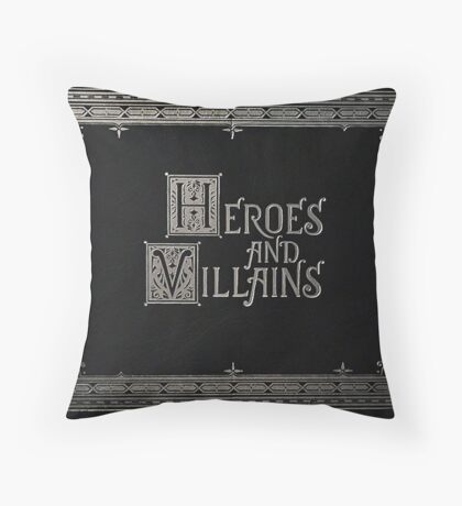 Heroes & Villains- Once Upon A Time Throw Pillow