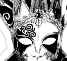 Venetian Masquerade Carnival Mask Sticker