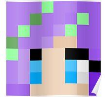 iHasCupquake Minecraft skin Poster