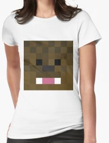 JeromeASF Minecraft skin Womens Fitted T-Shirt