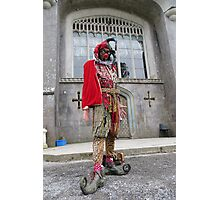 Jester at Castle Photographic Print