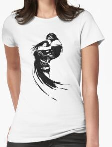 Squall And Riona Womens Fitted T-Shirt