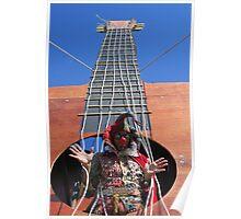 Inside Guitar Poster