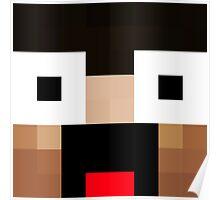 Keralis Minecraft skin Poster