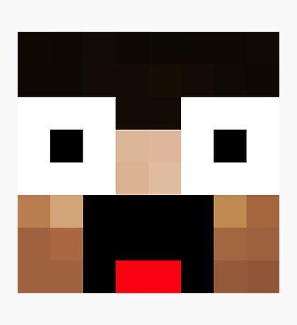 Keralis Minecraft skin Photographic Print