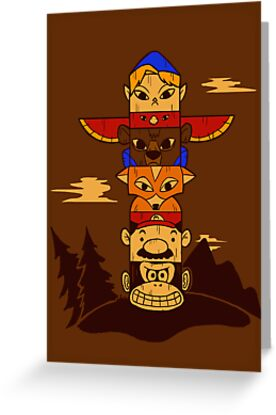 64bit Totem Pole by sponzar
