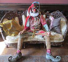 Fool on couch by jollykangaroo