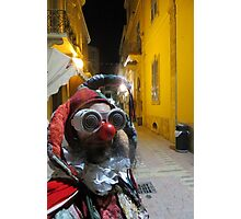 Jester in Cyprus Photographic Print