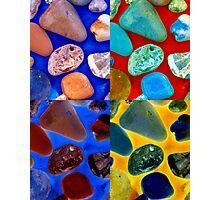 Rock Collage Photographic Print