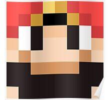 Sethbling Minecraft skin Poster