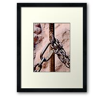 Chained Framed Print