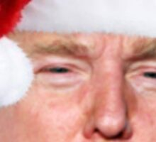 Trump Santa Sticker