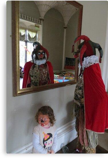 The Fool in the Mirror by jollykangaroo
