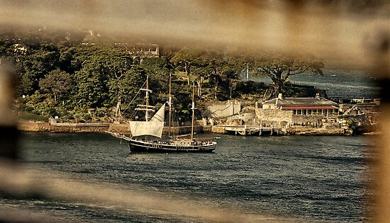 Old Sydney Sailing Ship by Chris Hood