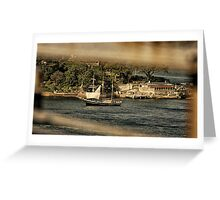 Old Sydney Sailing Ship Greeting Card