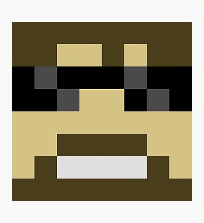ssundee Minecraft skin Photographic Print