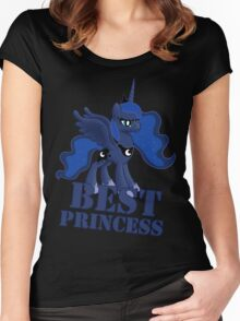 Best Princess Tshirt (My Little Pony: Friendship is Magic) Women's Fitted Scoop T-Shirt