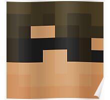 SkyDoesMinecraft Minecraft skin Poster