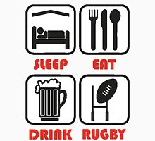 EAT SLEEP RUGBY Unisex T-Shirt