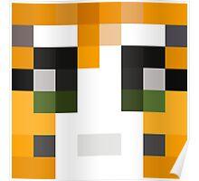 Stampy Minecraft skin Poster