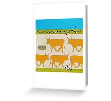 In Search of the Rainbow Grass Greeting Card