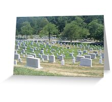 Landscape of Arlington National Cemetery Greeting Card