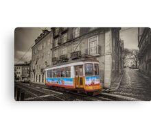Carris Tram 574 Lisbon Metal Print