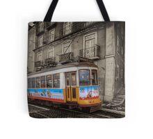 Carris Tram 574 Lisbon Tote Bag