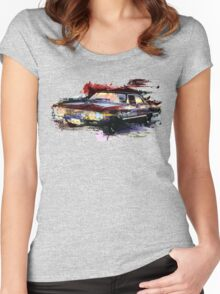 Baby Supernatural 67 Impala Watercolor Women's Fitted Scoop T-Shirt