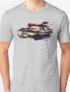 Baby Supernatural 67 Impala Watercolor Unisex T-Shirt