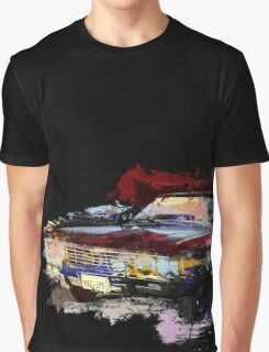 Baby Supernatural 67 Impala Watercolor Graphic T-Shirt