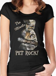 The Ultimate Pet Rock Women's Fitted Scoop T-Shirt
