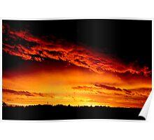 Ballarat Sunset No 1 ... Poster